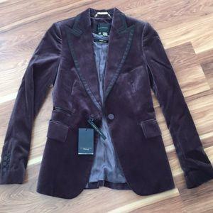 💥FLASH SALE 💥ZARA Velvet Blazer US 2 (MSRP $170)